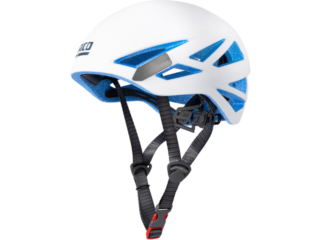 LACD Defender RX Helm, white/blue